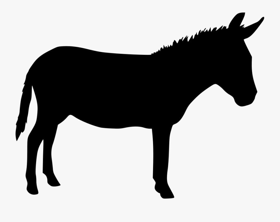 Clip Art Free Download On Mbtskoudsalg - Donkey Svg Free, Transparent Clipart