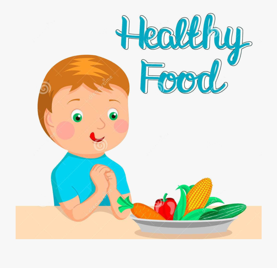 Eating Healthy Clipart Food Station Magnificent Free - Eat Healthy Food Clipart, Transparent Clipart