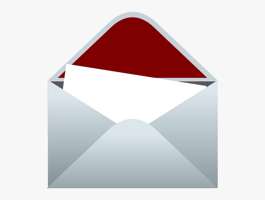 Envelope And Letter Png, Transparent Clipart