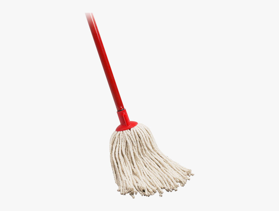 Mop On A Stick, Transparent Clipart