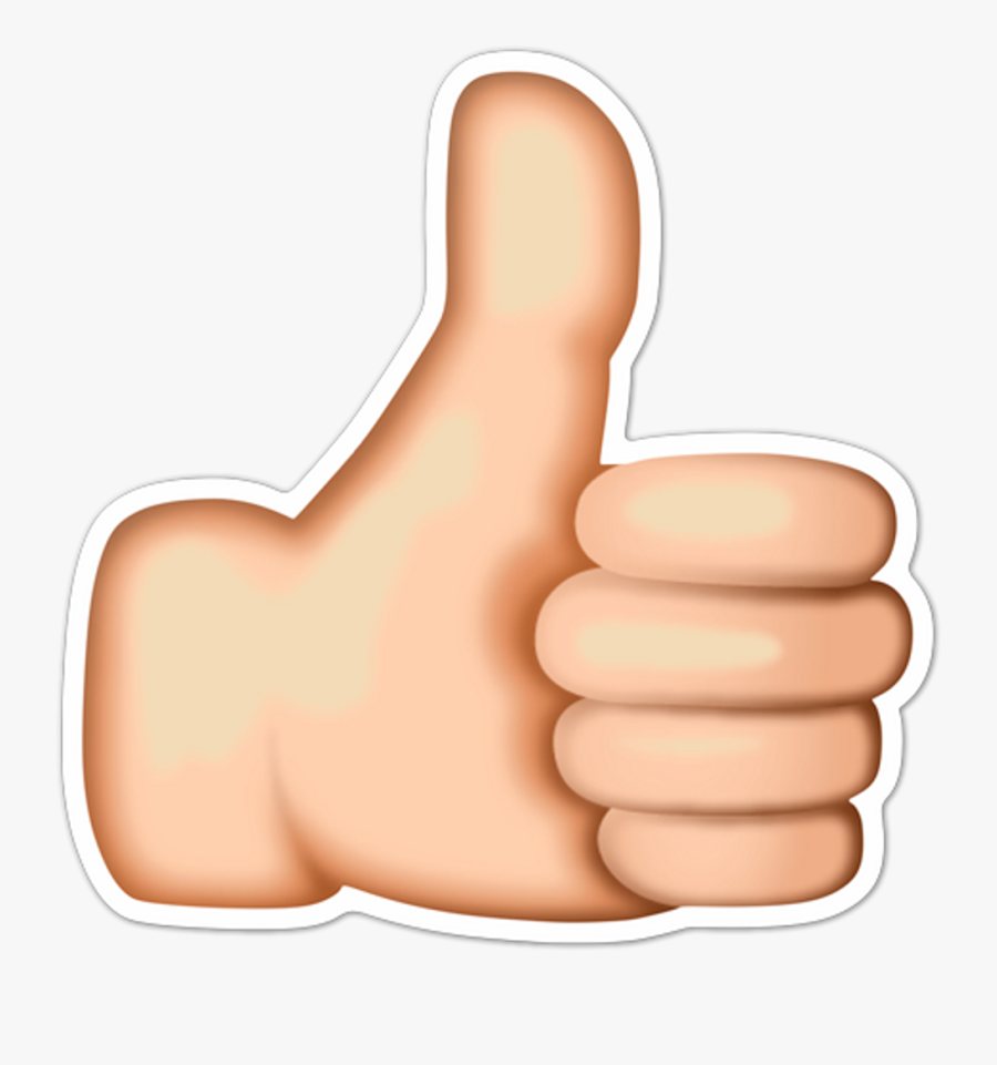 Thumb Clipart Thumbsup - Youtube Thumbs Up Transparent, Transparent Clipart