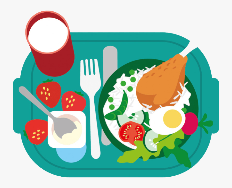 Healthy Food Junk Breakfast School Meal Clip Art Eating - Healthy Food Clipart Png, Transparent Clipart