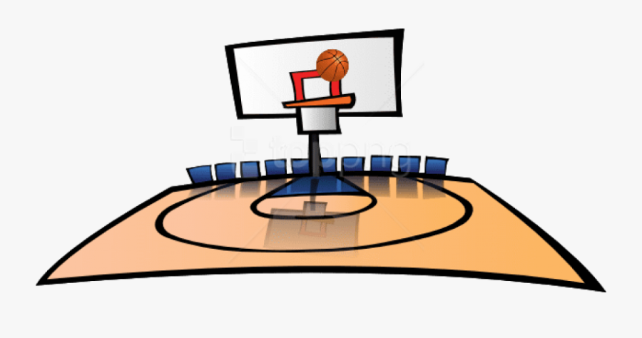 Basketball Court Png - Basketball Courts Clipart, Transparent Clipart