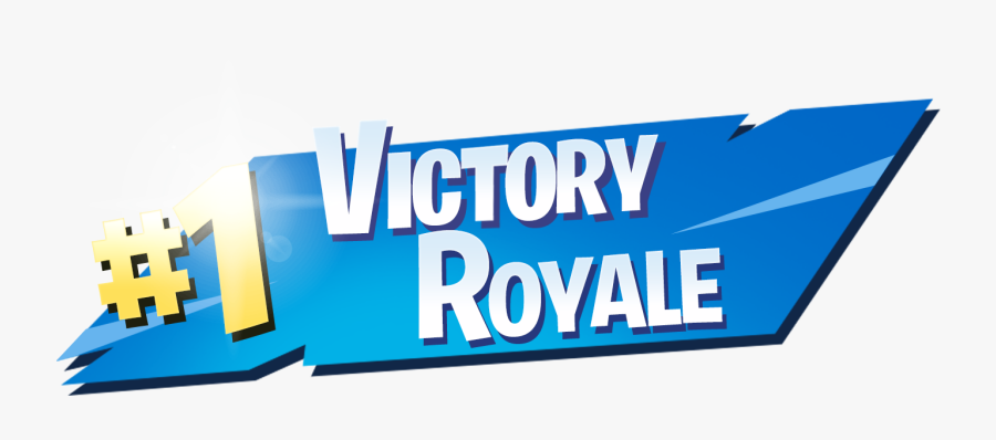 Fortnite Victory Royale Png Clipart Image - Victory Royale Transparent Background, Transparent Clipart