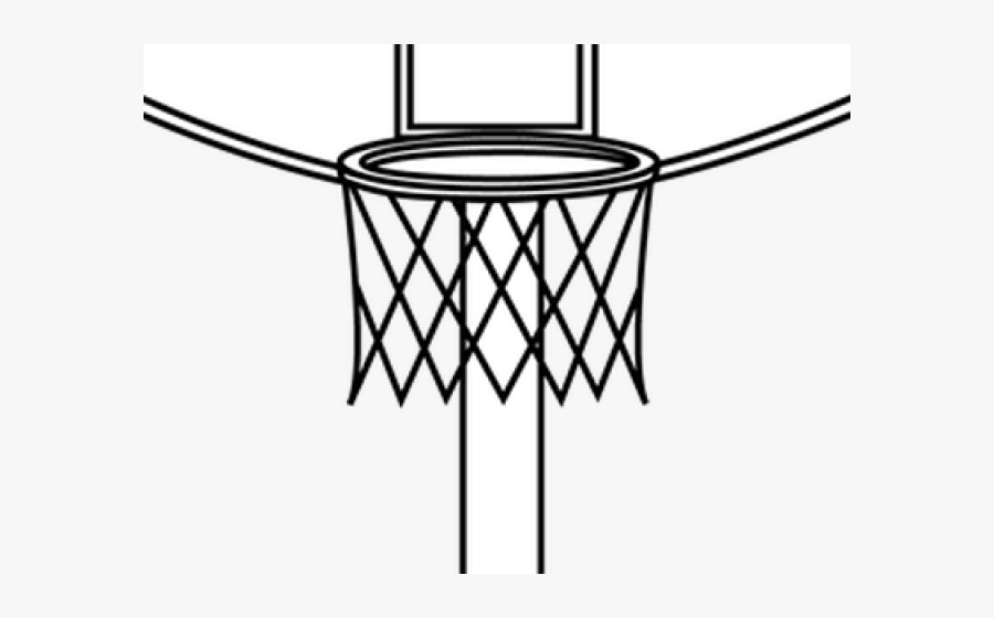 Basketball Team Clipart Black And White Easy Draw Basketball Hoop Free Transparent Clipart Clipartkey