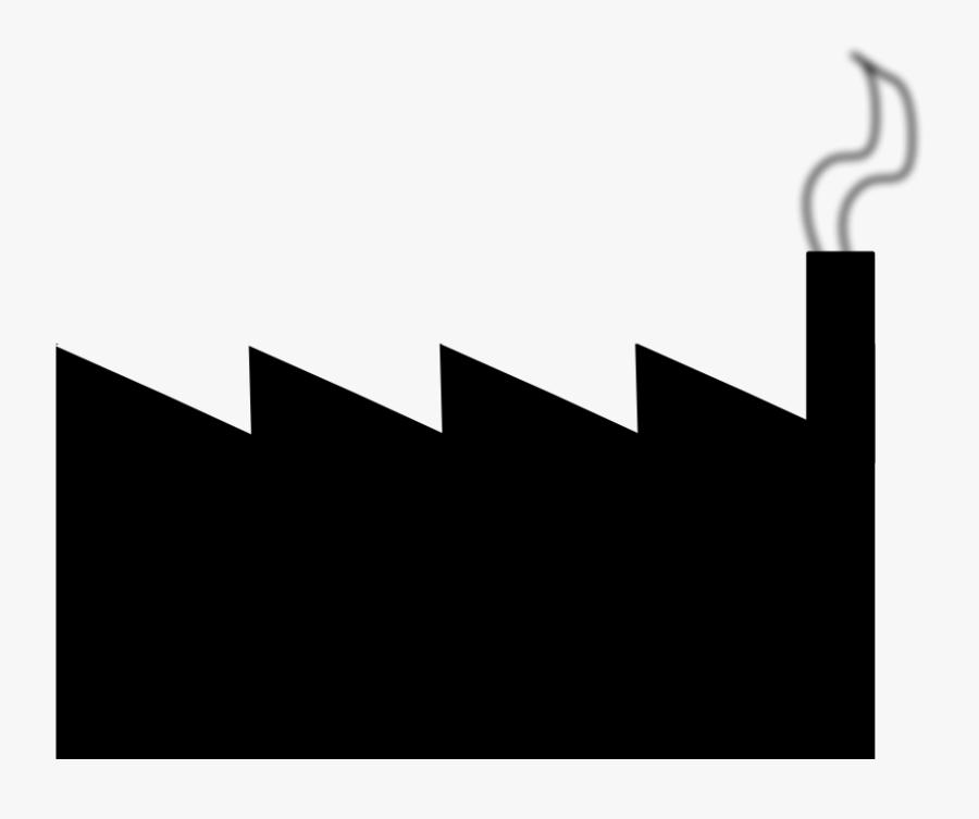 Clip Art Factory - Factory Clipart Small, Transparent Clipart