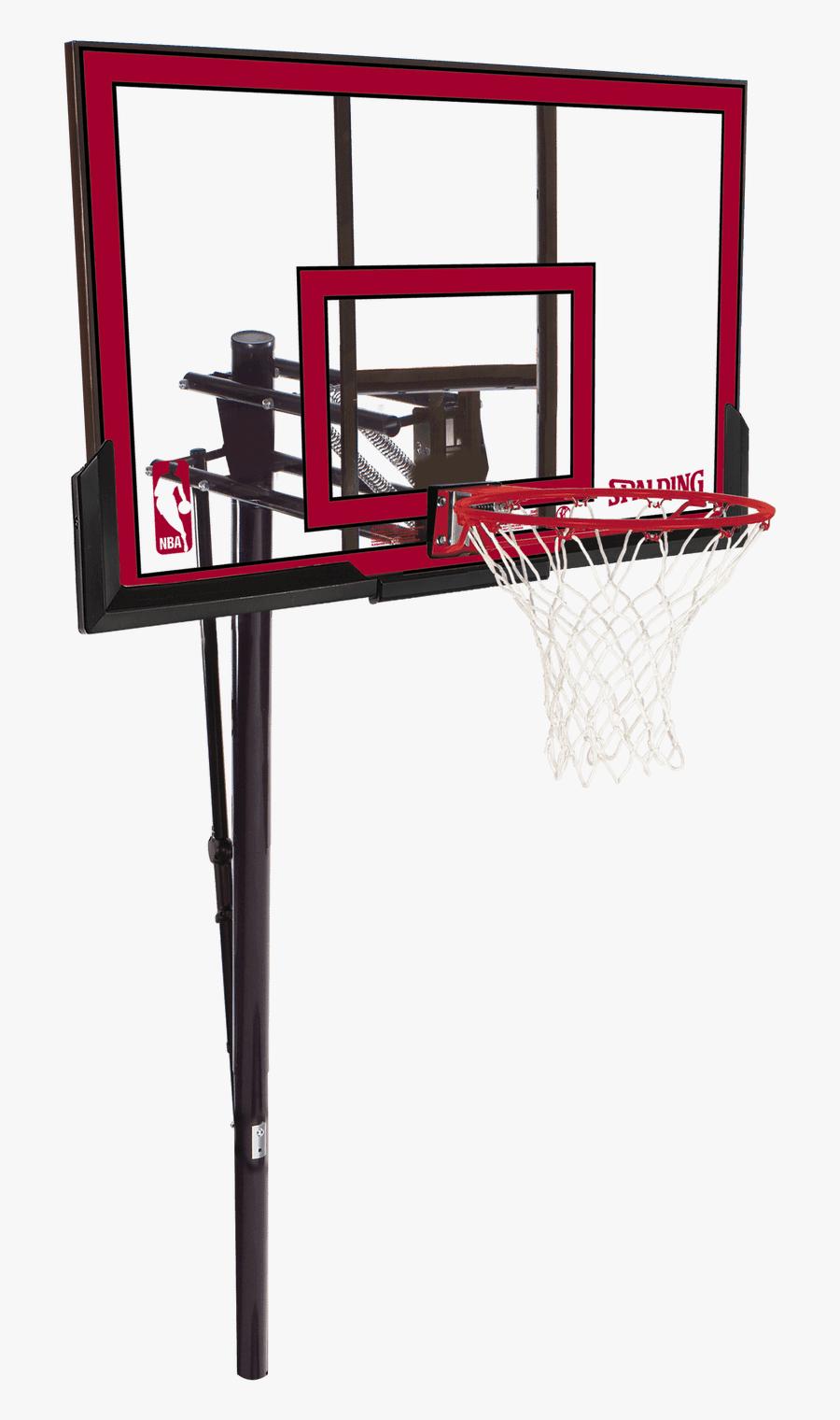 Transparent Basketball Net Vector Clipart - Spalding Basketball Backboard, Transparent Clipart