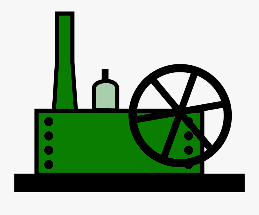 Machines Factory, Cartoon, Plant, Machine, Machines - Factory Machine Clip Art, Transparent Clipart