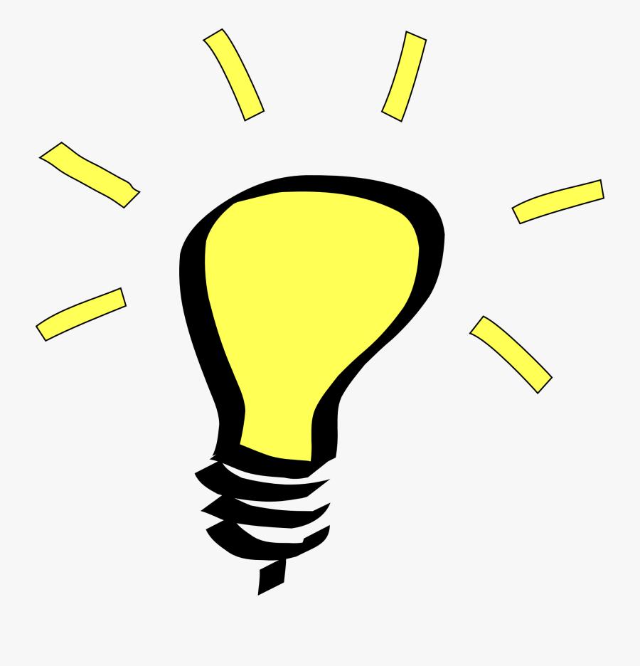 Light Bulb Clip Art, Transparent Clipart