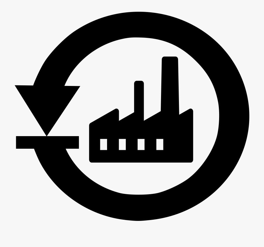 Factory Clipart Factory Symbol - Password Reset Clipart, Transparent Clipart