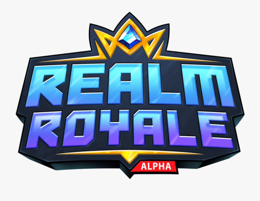 Fortnite Battle Royale Logo Png - Realm Royale, Transparent Clipart