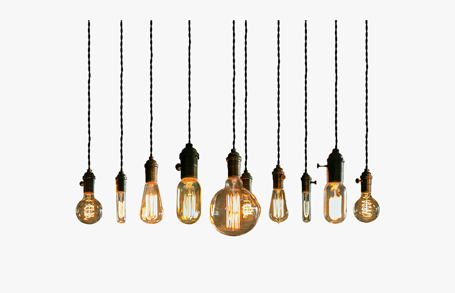 String Light Fixture Lights Lighting Pendant Bulb Clipart - Hanging Light Bulbs Png, Transparent Clipart