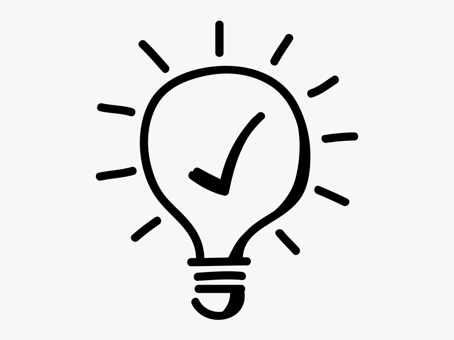 Light Bulb Clipart - Careful What You Click, Transparent Clipart
