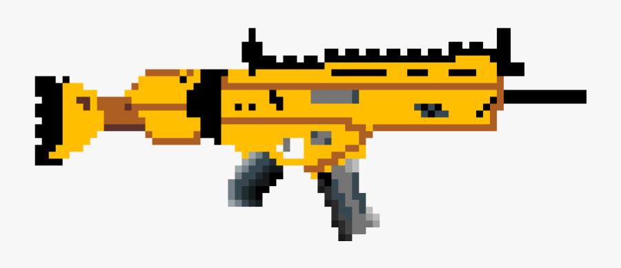 Pixel Art Sniper Fortnite Clipart Png Download Pixel Art