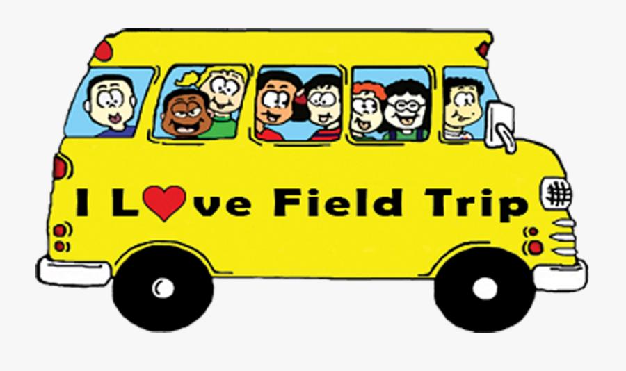 Clip Art Field Trip Clip Art - School Bus Field Trip Clipart, Transparent Clipart