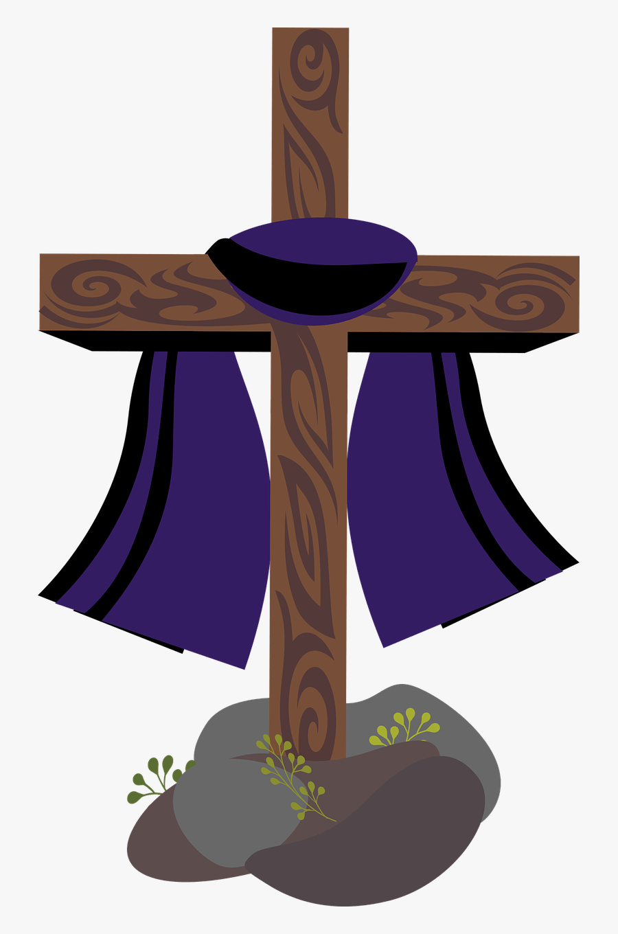 Graphic Lent Holy Week - Holy Week Clipart, Transparent Clipart