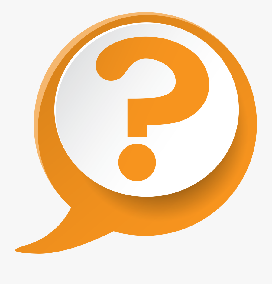 Frequently Asked Questions - Transparent Background Question Mark Icon, Transparent Clipart