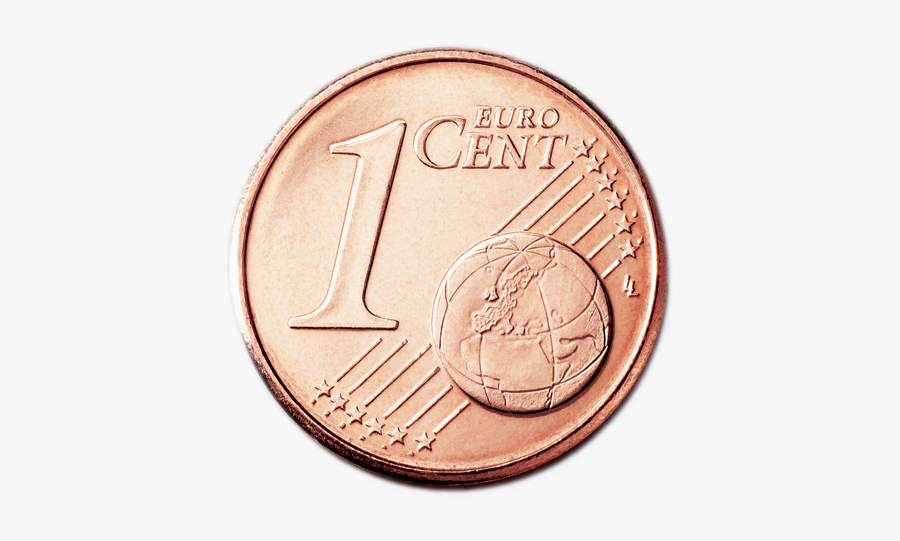 Coin Clipart One Penny - 1 Cent Coin Ireland, Transparent Clipart