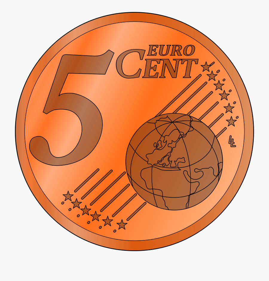 Lucky Penny Clipart Free Clip Art Images - 5 Cent Coin Clipart, Transparent Clipart