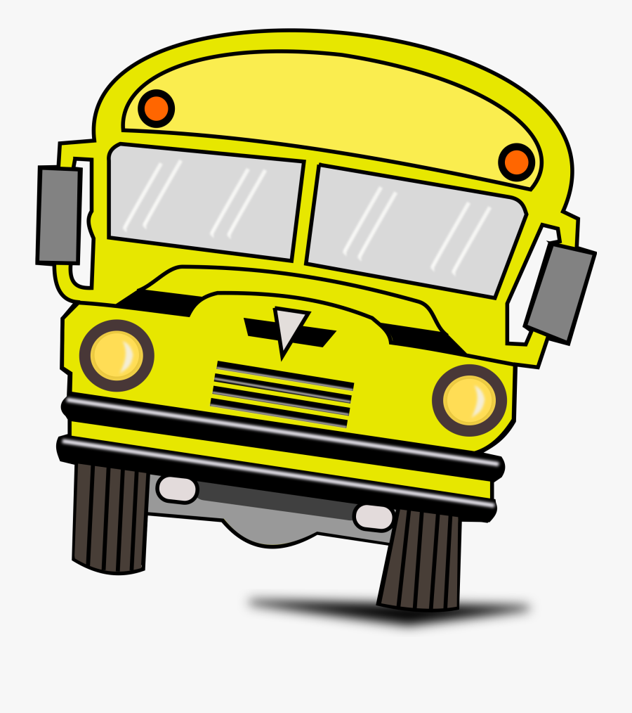 Red School Bus Clipart , Png Download - Transparent Background School Bus Clipart, Transparent Clipart