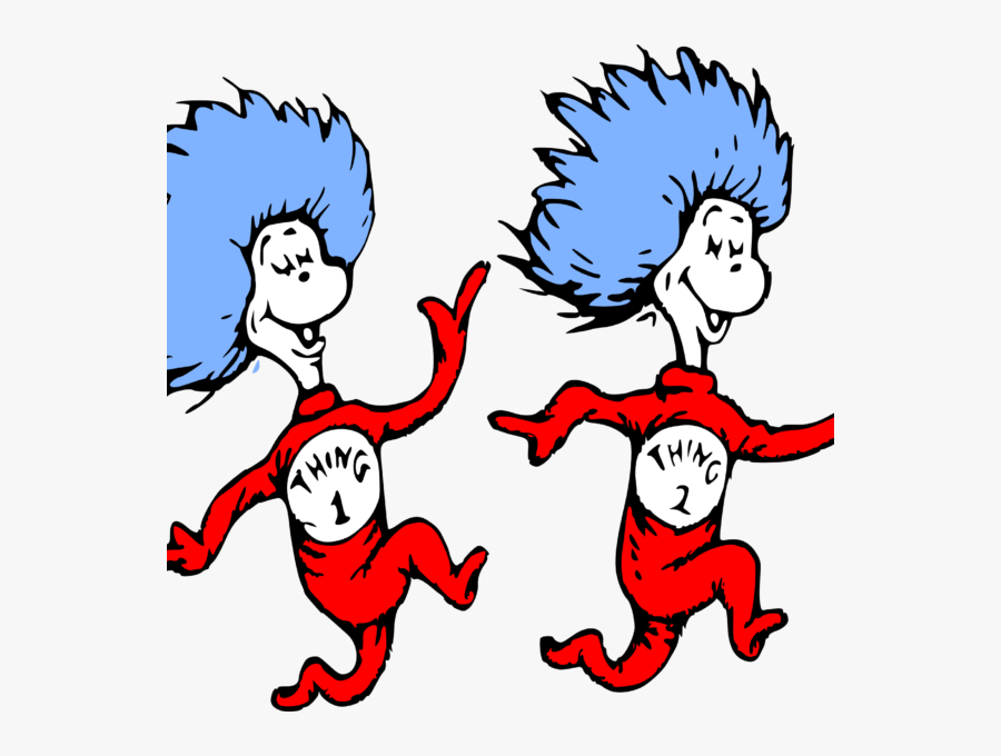Thing 1 And Thing 2 Png - Transparent Thing 1 And Thing 2 Png, Transparent Clipart