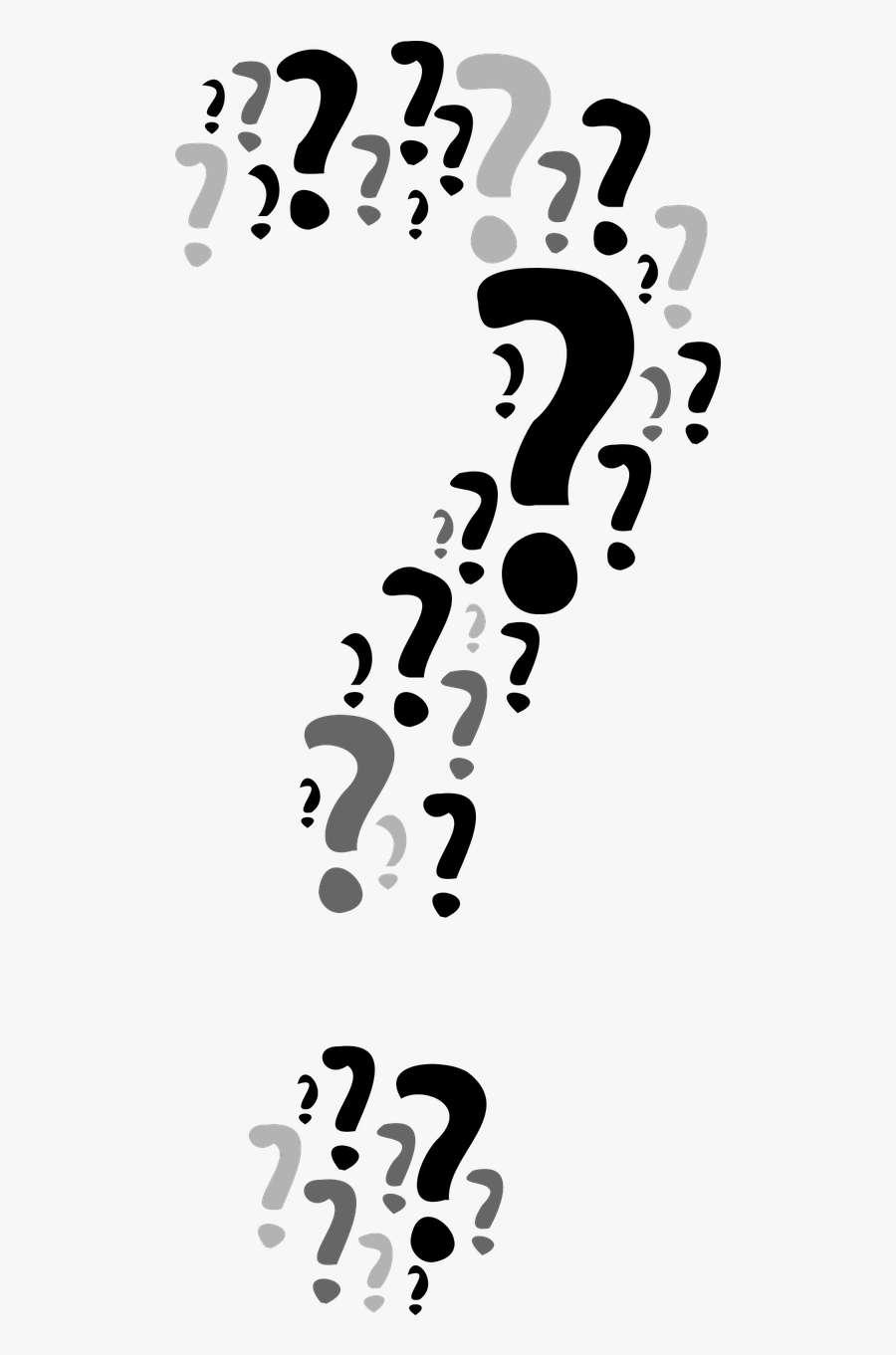 Question Questions The Question Mark Free Picture - Only For Genius Puzzles With Answers, Transparent Clipart