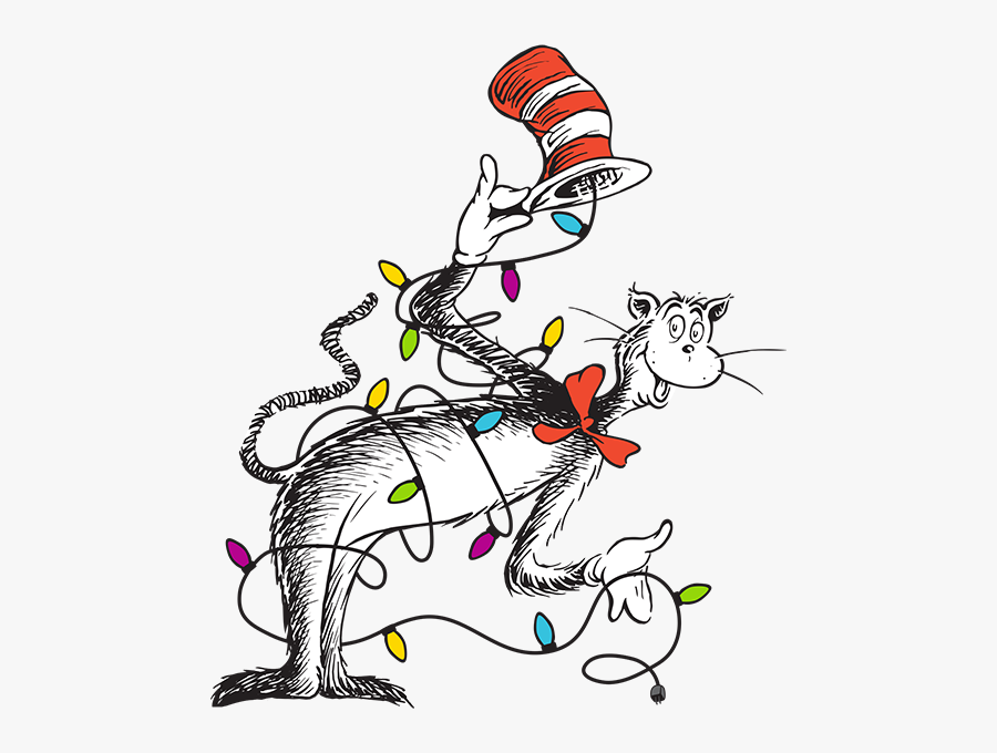 Cat In The Hat Bowing Clipart , Png Download - Cat In The Hat And Thing 1, Transparent Clipart