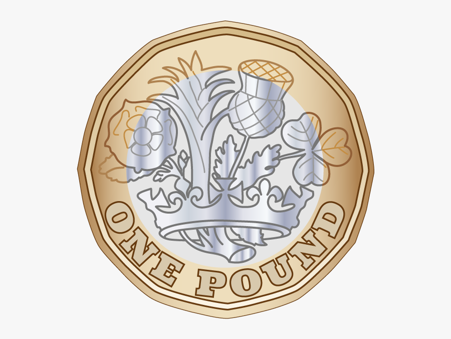 Coin Top Festival Uk - New Pound Coin Clipart, Transparent Clipart