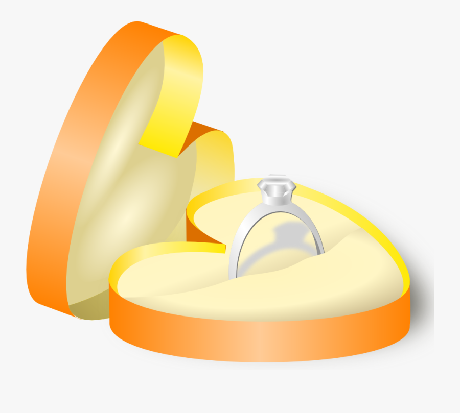Wedding Ring In A Box Clipart , Png Download - Ring In A Box, Transparent Clipart