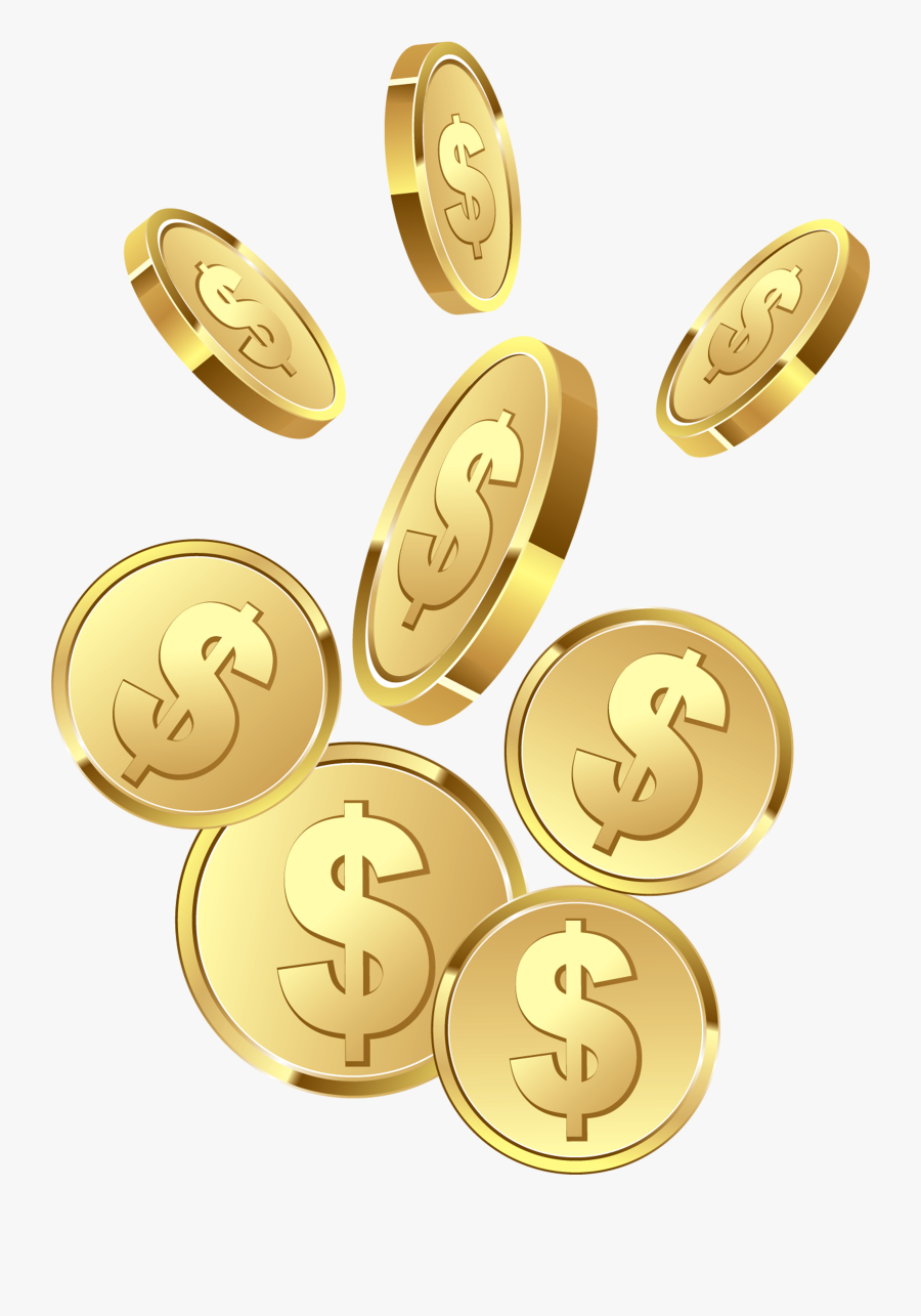 Coins Png Picture Gallery - Coins Clipart Transparent Background, Transparent Clipart