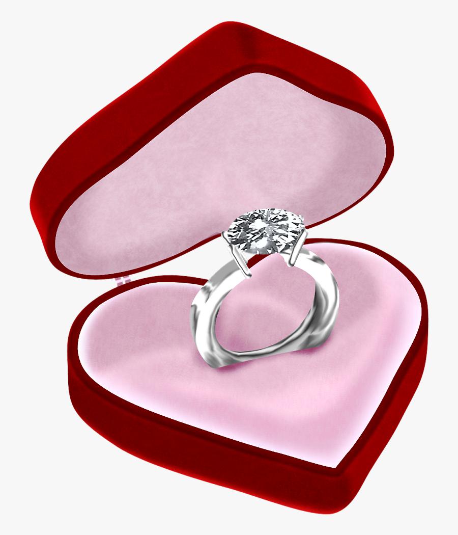 Wedding Ring Box Transparent, Transparent Clipart