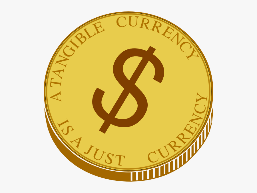 Transparent Blank Gold Coin Png - Coin Clipart, Transparent Clipart
