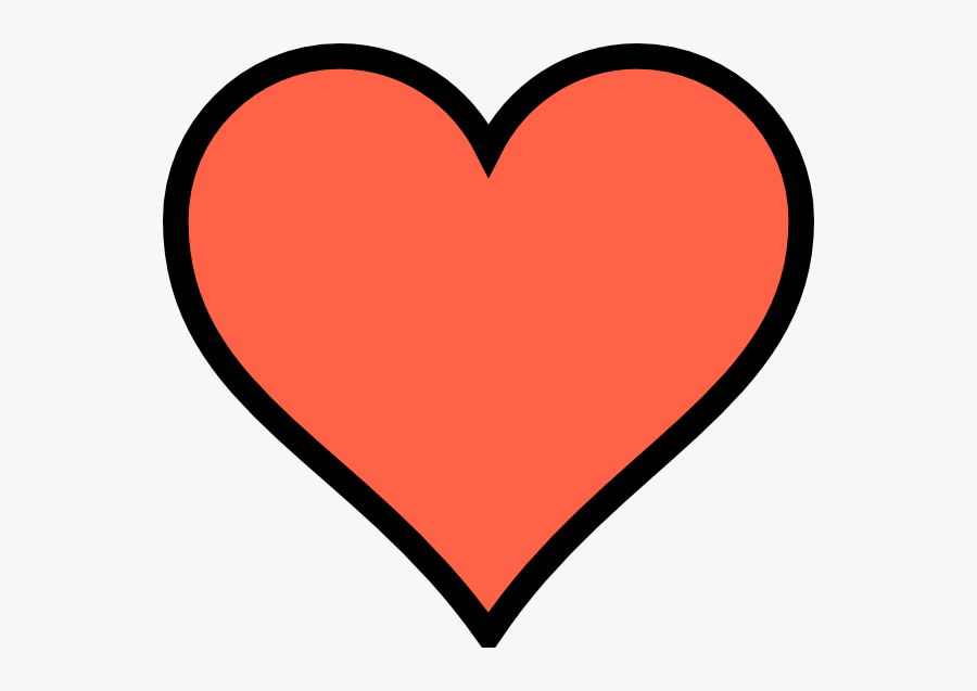 Thumb Image - Heart Clipart Coral, Transparent Clipart