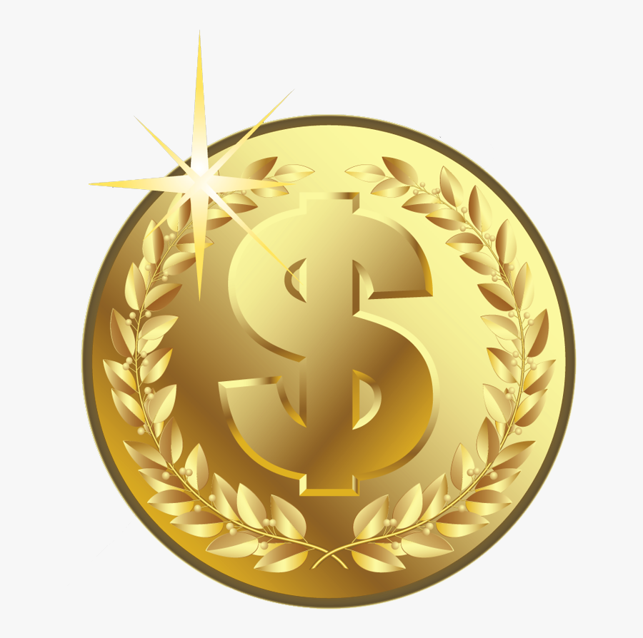 Gold Coin Png, Transparent Clipart