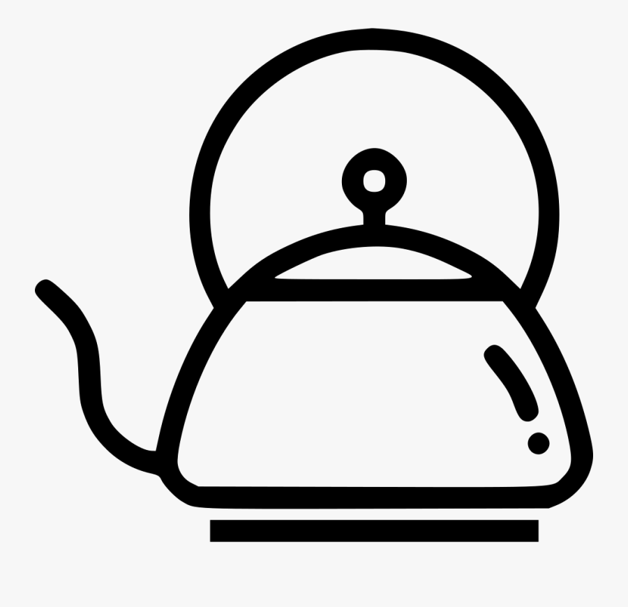 Tea Pot Kettle Drink Brew Boil Svg Png Icon Free Download - Kettle Icon Png, Transparent Clipart
