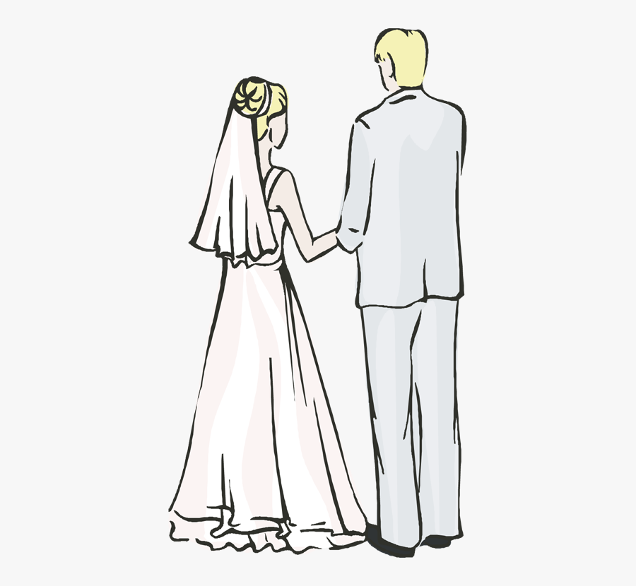 Bride Free Collection And - Transparent Free Bride And Groom Clipart, Transparent Clipart