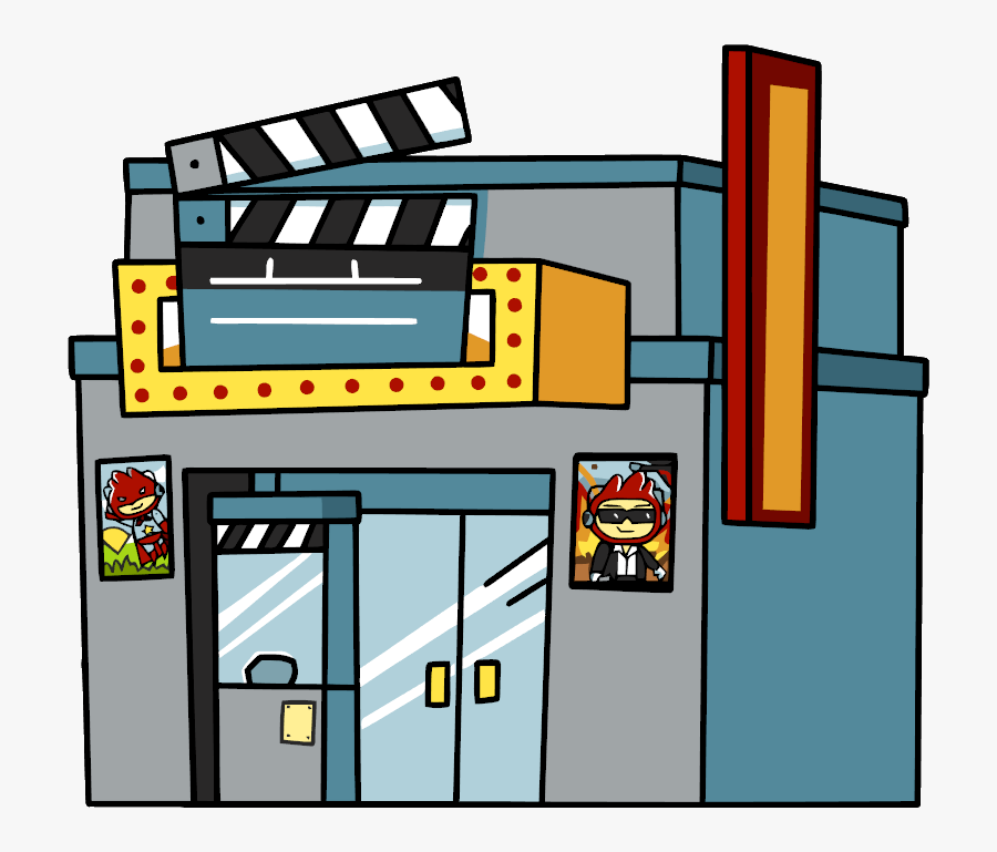 Cinema Clipart Movie Theatre Movie Theater Cartoon Png Free Transparent Clipart Clipartkey