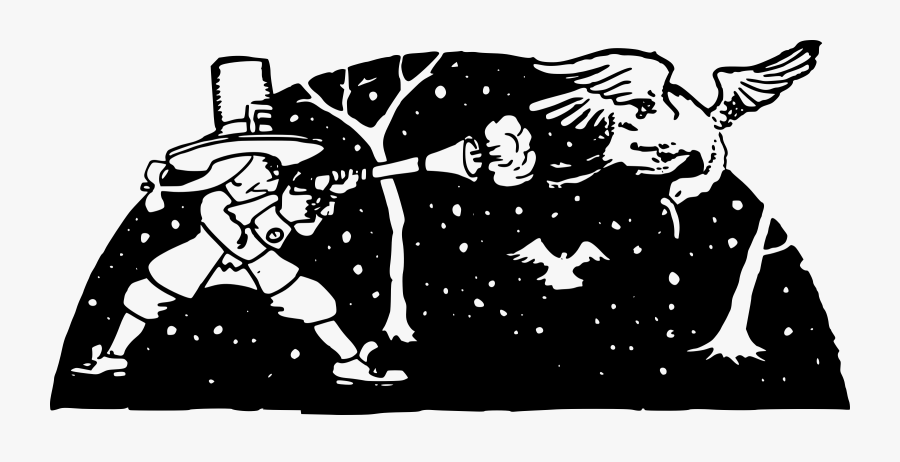 Transparent Turkey Cartoon Png - Clip Art, Transparent Clipart