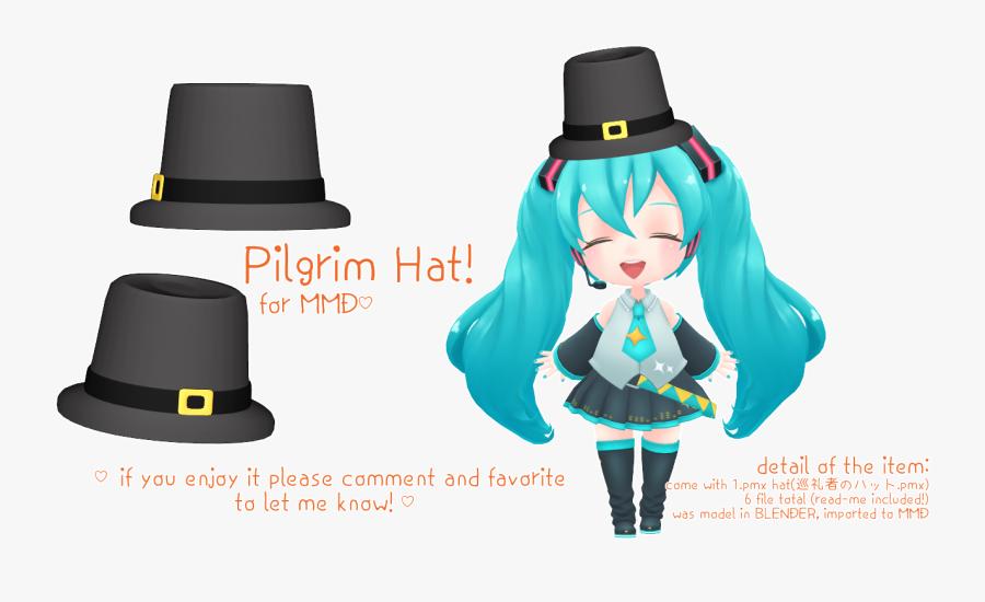 Fedora Clipart Boys Hat - Mmd Hats, Transparent Clipart