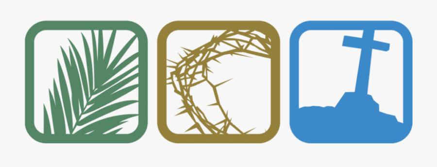 Lent Holy Week 2019, Transparent Clipart