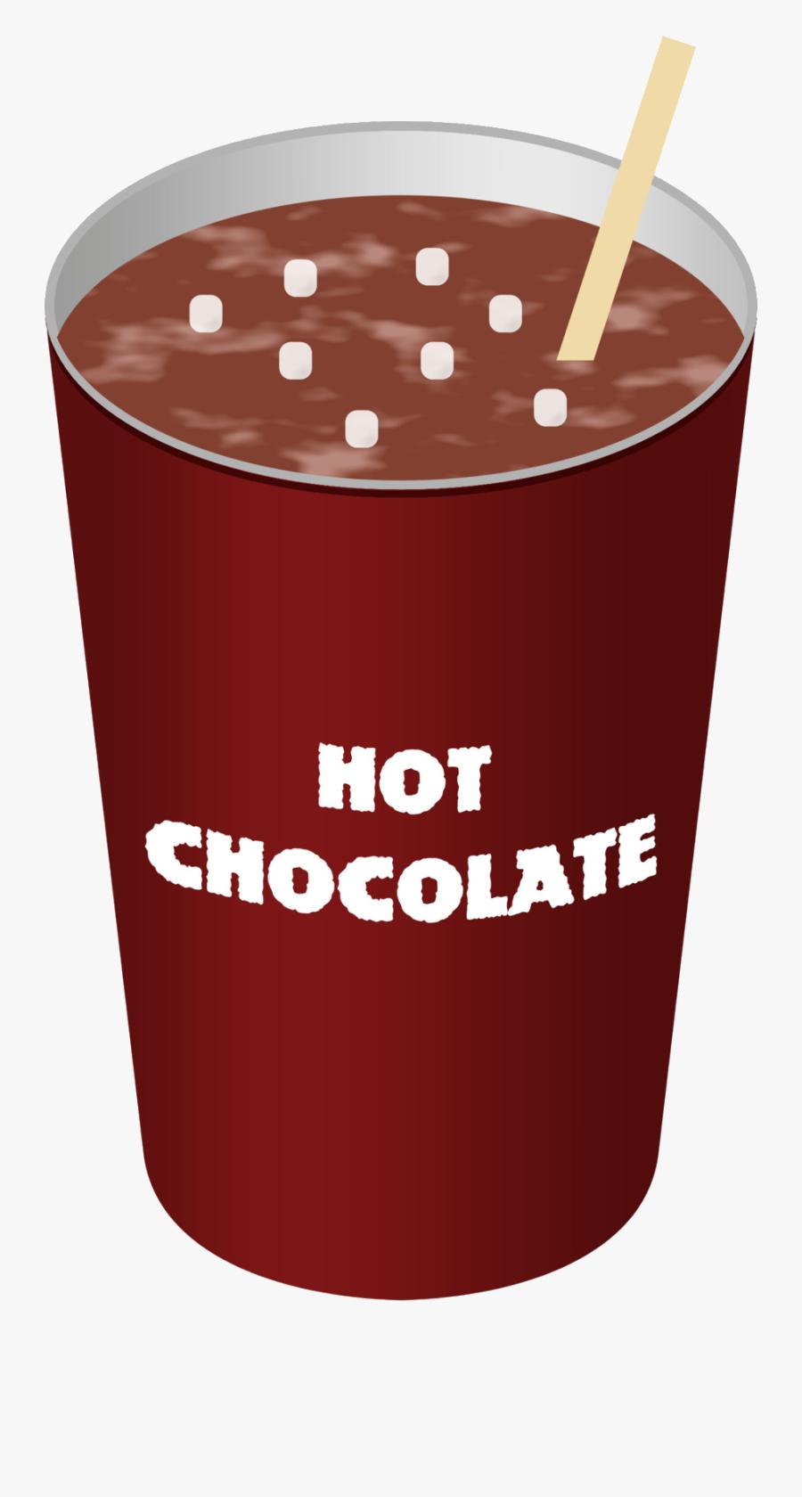 Hot Chocolate Milk Clip Art Cocoa Free Transparent - Hot Chocolate In A Cup Clipart, Transparent Clipart