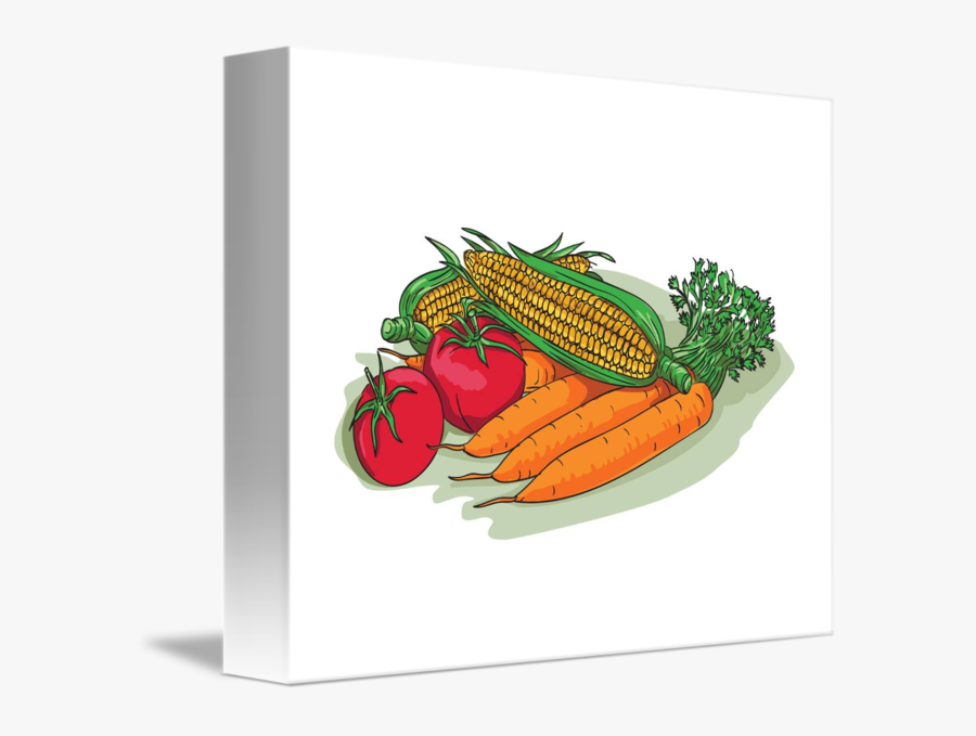 Vegetable Garden Crop Harvest Drawing - Natural Foods, Transparent Clipart
