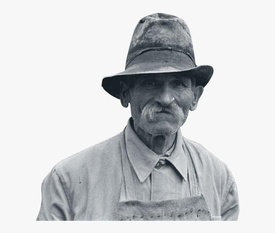 Transparent Peasant Clipart - Monochrome, Transparent Clipart