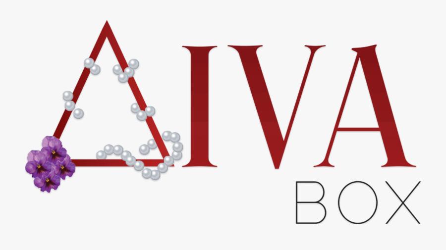 Delta Sigma Theta Diva Box, Transparent Clipart