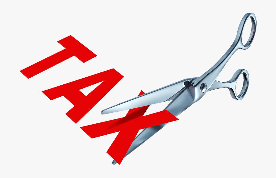 Cut Taxes - Inauguration Ribbon, Transparent Clipart