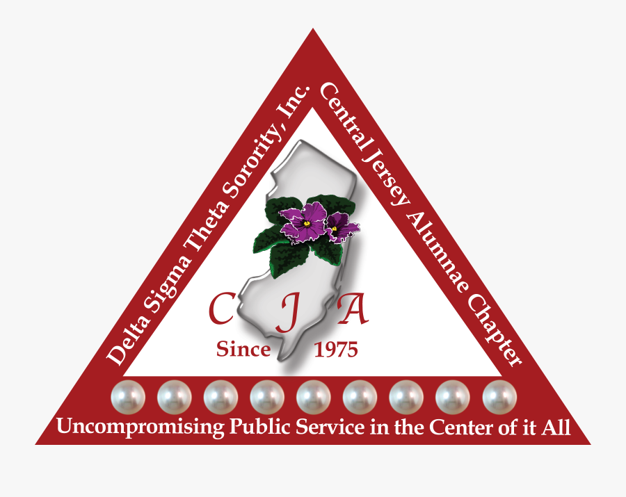 Central Jersey Alumnae Chapter Delta Sigma Theta, Transparent Clipart