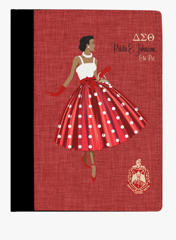 Delta Sigma Theta Diva, Transparent Clipart