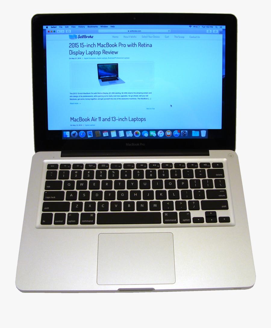 Laptop Clipart Laptop Apple - Macbook Pro, Transparent Clipart