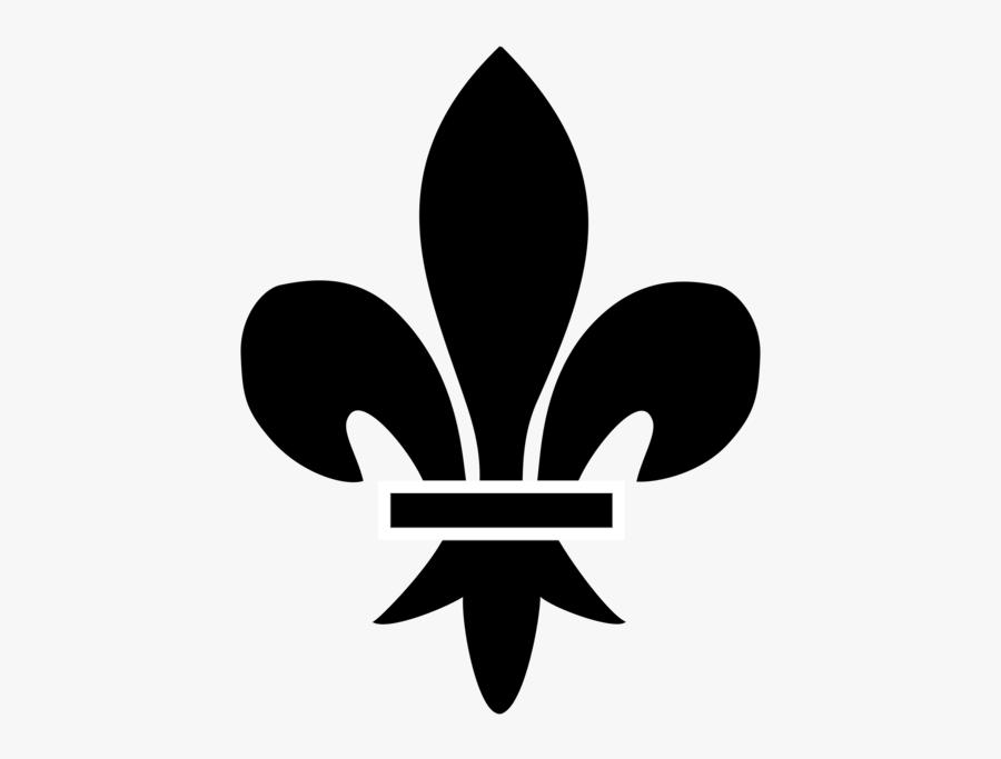 Plant,leaf,symbol - Québec Fleur De Lys, Transparent Clipart