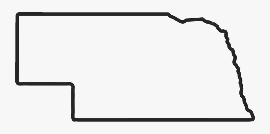 Clip Art Nebraska Outline Nebraska State Outline Png Free Transparent Clipart Clipartkey